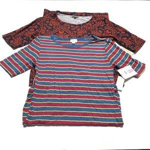LULAROE Julia Dress Lot Size Medium